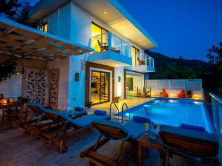 Secluded Two Bedroom Villa Bayram2 with Heated Indoor & Outdoor Pool, KAV273