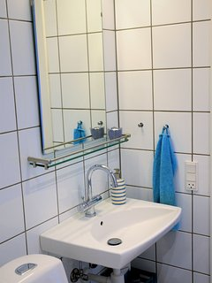 Shared bathroom and toilet