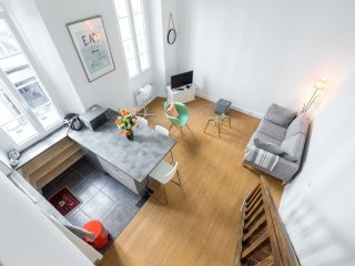 Nicelidays - Le 'SUEDE' - 1 BEDROOM,CARRE D'OR,CITY CENTRAL,2MIN FROM BEACH