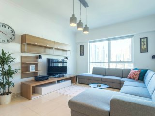 Modern & Bright 1BR in JLT - Marina view