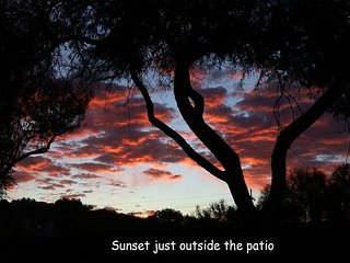 Sunrise, sunset & all day long,  Santa Catalinas (you can almost touch them)