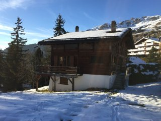 Beau chalet traditionnel a Verbier