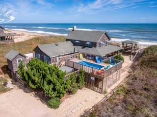 The Beach House | Oceanfront | Dog Friendly, Private Pool, Hot Tub