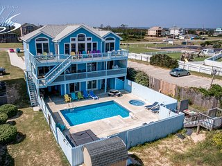 H.M.S. Pinafore | Oceanfront | Private Pool, Hot Tub | Nags Head