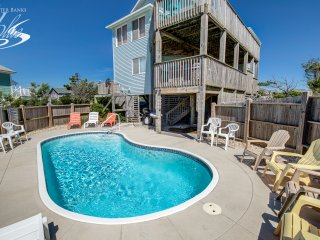 Ocean Oasis | 798 ft from the beach | Private Pool, Hot Tub | Nags Head