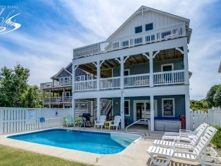 Pelican Patrol | 897 ft from the beach | Private Pool, Hot Tub | Nags Head