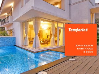 Baga Beach Luxury 3 Bed Pool Villa