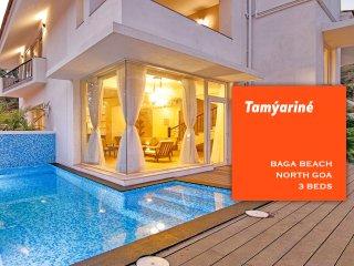 Baga Beach Luxury 3 Bed Pool Villa