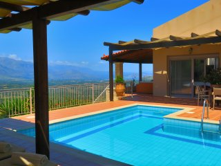 Villa Castello, Privatpool, Traum-Aussicht, einer der schönsten Plätze Kretas