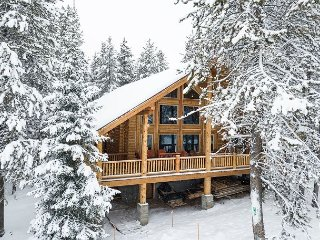 Brand New DREAM log cabin! Hot tub and Wi-Fi! Perfection at its Finest!