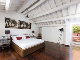 Luxury 6 bd apartment with 2 terraces close to Spanish Steps