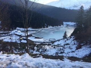 Gîte 10/12 pers au bord du Lac de Payolle, au pied du col du Tourmalet