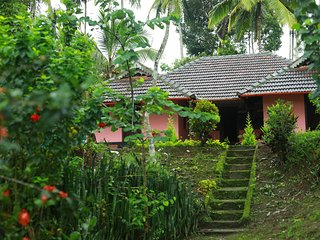 The farm villas is traditional 'Tharavadu' 100 yeras old.