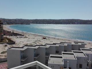 Departamento frente a Playa La Herradura, hermosa vista al mar, Coquimbo, Serena