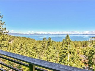 3BR Home w/ Stunning Lake Views – Walk to Zephyr Cove Beach