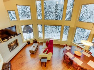 Spacious ski house moments from slopes with gorgeous views!