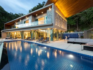Villa Thousand Hills - 8 Bedroom Luxury Sea View Villa, Nai Harn Beach