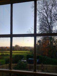 View from bedroom rear window