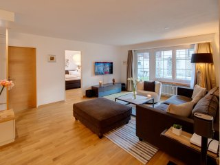 Perfect Family Apartment With Gorgeous Living Area For A Perfect Family Ski
