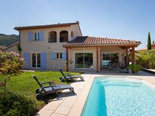 Villa Alize - voor 10 personen met privezwembad op Les Rives de l'Ardeche