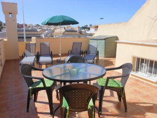 (479) Casa Perla 2 bed bungalow quiet location air-con Wi-Fi opposite pool