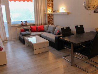 Moderne & gemütliche Ferienwohnung mit Blick auf den Bocksberg
