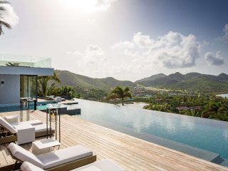 Villa Neo is one of the most unique additions St Barth has seen in a long ti