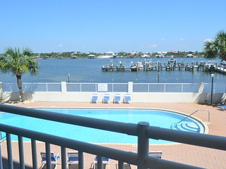 SeaSpray Perdido Key Condo #213 ~ 2 Bedroom River Front