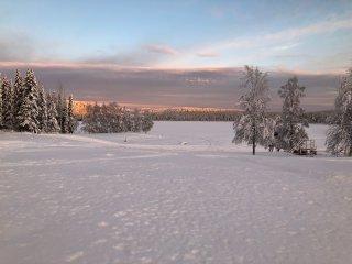 Vakantiehuis op de mooiste plek van Zweeds Lapland