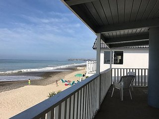 Large 2 Story Beach House - Private Road on Exclusive Beach Road.