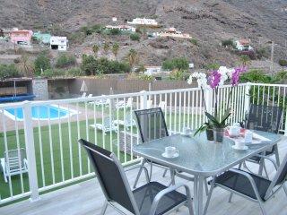 Mogán Sol, apartamento para minusvalidos con piscina a 3 km del Pto. de Mogán