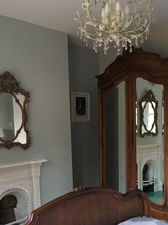 Antique French armoire.