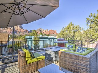 NEW! 2BR Sedona Home -Breathtaking Panoramic Views