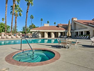 NEW! 2BR Cathedral City Condo-Pool & Tennis Access