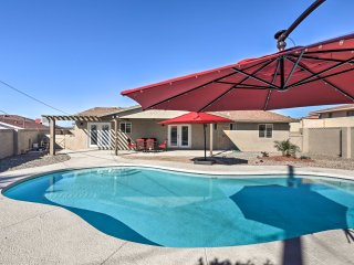 NEW! 4BR Lake Havasu City home w/ Backyard Oasis!