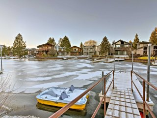 Central, Waterfront Townhome on South Lake Tahoe!