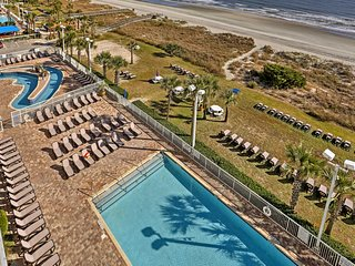 Oceanfront Myrtle Beach Studio in #1 Rated Resort!