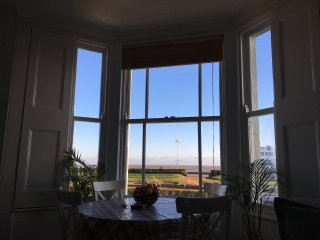 Moray Beach View is a Suffolk coast beach apartment with fantastic sea views