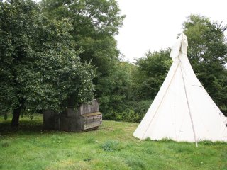 Wye Valley Glamping at White House near Hereford - Tipis and Yurts