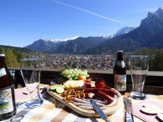 FEWO SERVICE MAYR Alpenwelt Karwendel, Haus am Hochwald