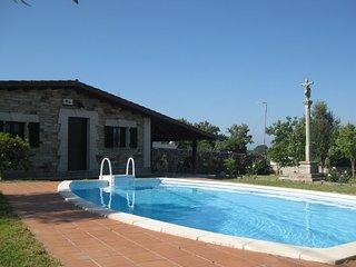 Casita con piscina en Rias Baixas