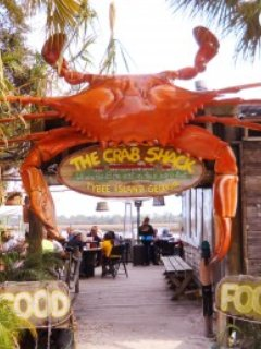 Don't miss the world famous Crab Shack!
