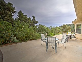 Peaceful Escondido Home on 130-Acre Avocado Grove!