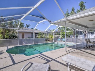 Breezy Marco Island Home w/ Pool - Walk to Beach!