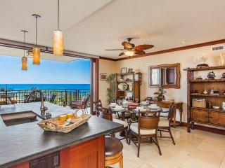 High Floor Oceanfront 3BD 3BA Ko Olina Beach Villa, Wifi, Pools, Gym and MORE!