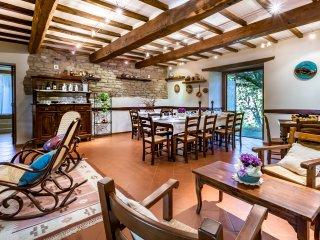 6 bedroom Villa in Aghezzola, Tuscany, Italy : ref 5478332