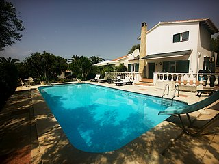 Villa with Large Pool and Mediterranean Gardens near Menorca's Best Beaches