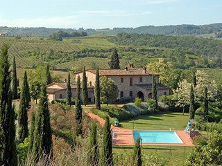 4 bedroom Apartment in Montaione, Tuscany, Italy : ref 5242067