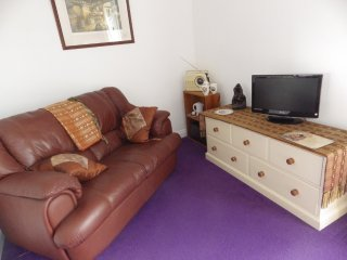 Plenty of wardrobe and storage space with room to spread out and relax