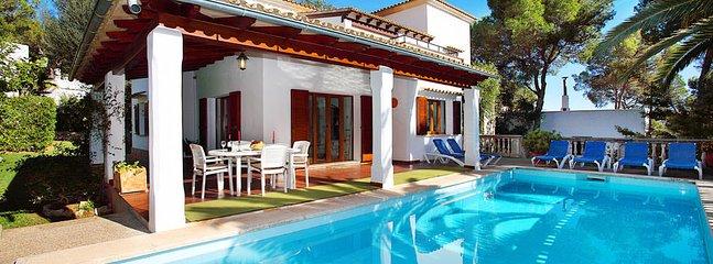 3 bedroom Villa in Portopetro, Balearic Islands, Spain : ref 5217506